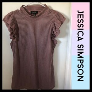 Jessica Simpson - Short Sleeve Top - Size Medium